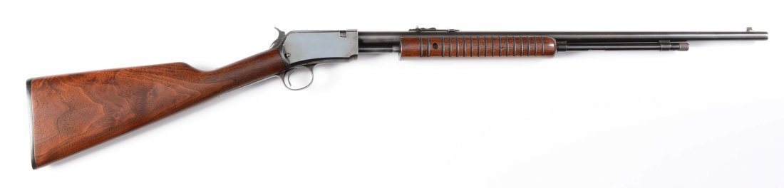 (C) Winchester Model 62A Slide Action Rifle (1957).