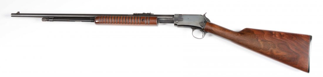 (C) Winchester Model 62A Slide Action Rifle (1957). - 2