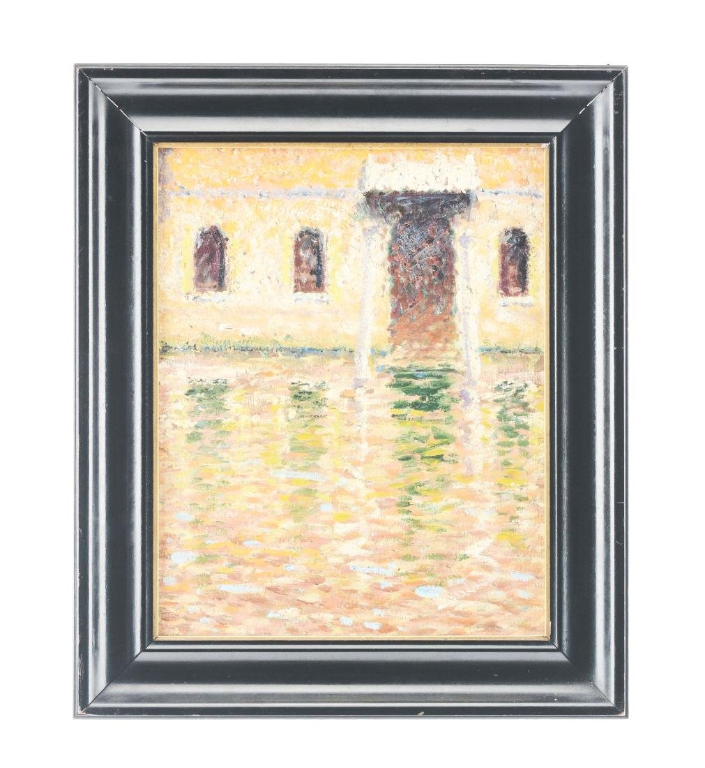 Giverny School of Art Impressionist Portrait.