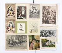 Large Lot Of Currier  Ives Reference Books with