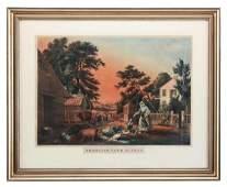 American Farm Scenes N Currier No 2 Large Folio