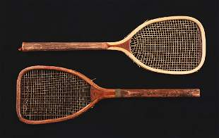 Lot Of 2 Horsman Flat Top Tennis Rackets