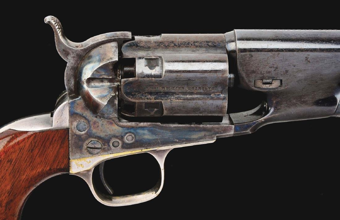 (A) Colt 1860 Fluted Army Percussion Revolver (1860). - 3