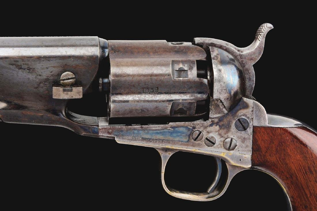 (A) Colt 1860 Fluted Army Percussion Revolver (1860). - 4
