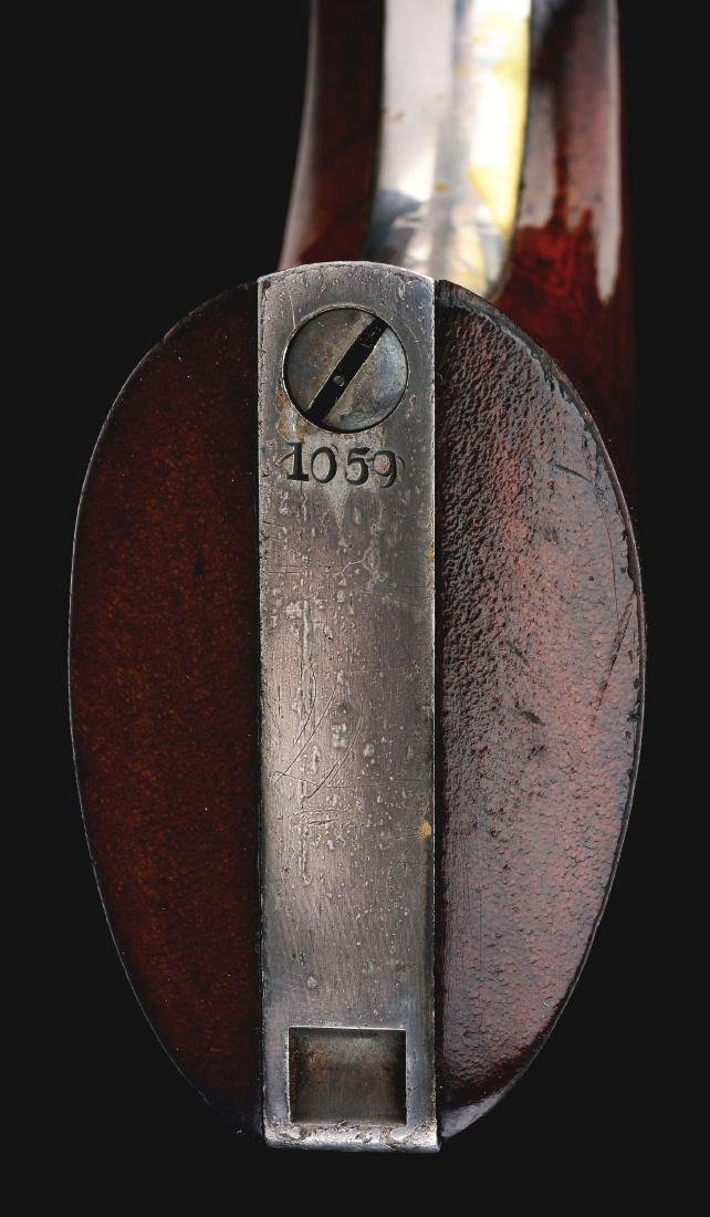 (A) Colt 1860 Fluted Army Percussion Revolver (1860). - 9