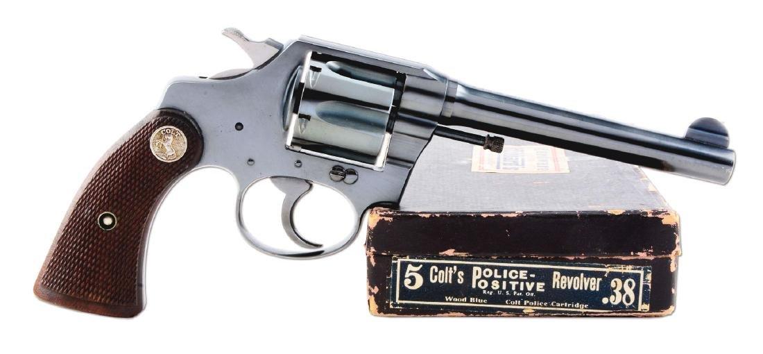(C) Excellent Colt Police Positive Double Action