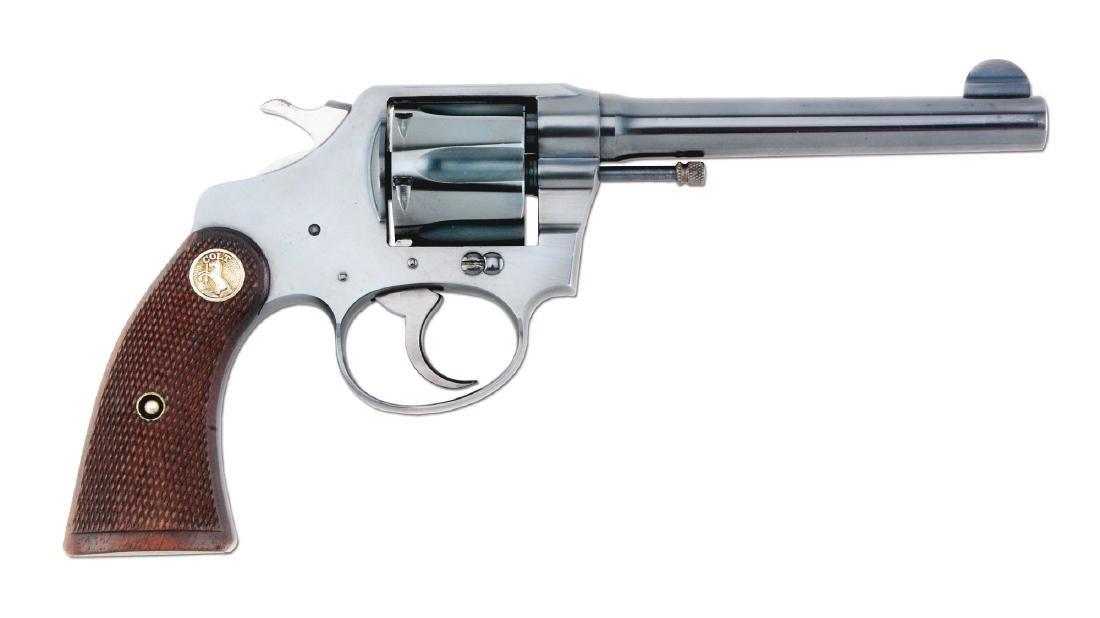 (C) Excellent Colt Police Positive Double Action - 4