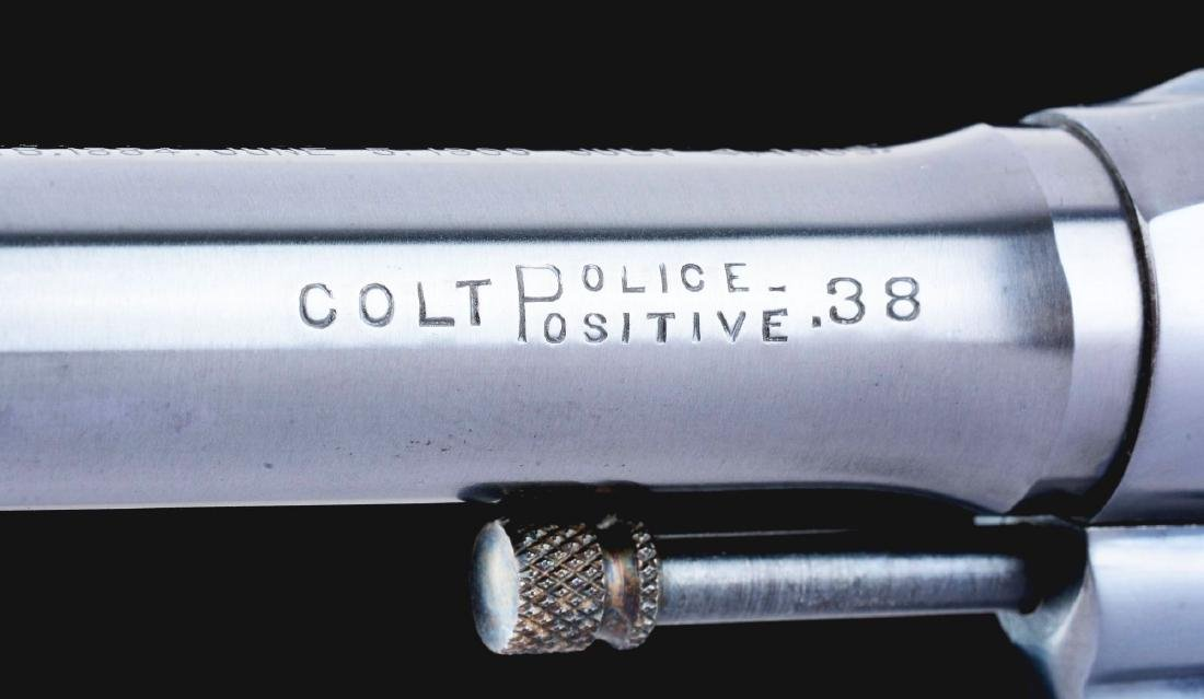 (C) Excellent Colt Police Positive Double Action - 9