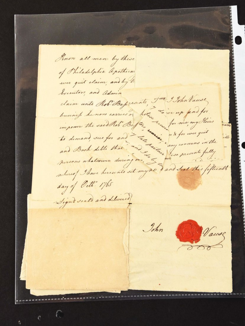 PAPERS OF ROBERT BASS, BRITISH ARMY APOTHECARY AND - 4