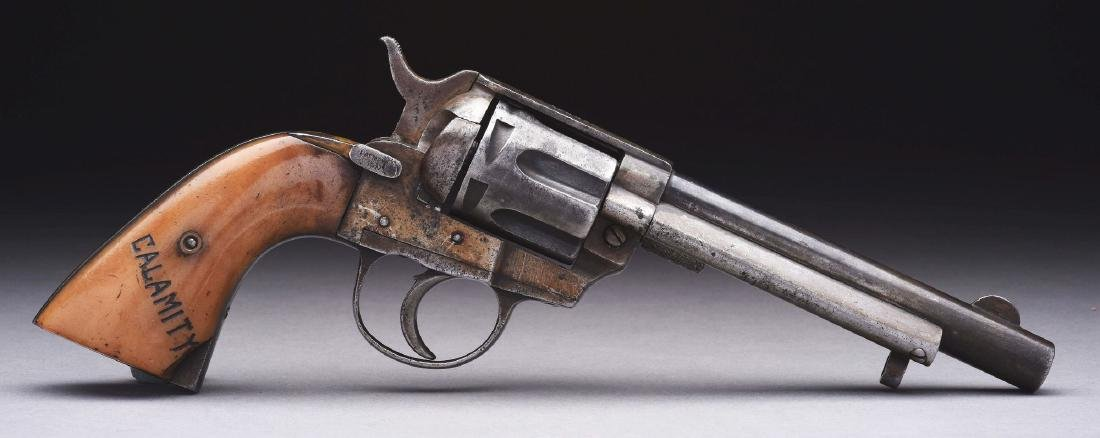 (A) Colt 1873 Type Revolver Documented to 3 Major