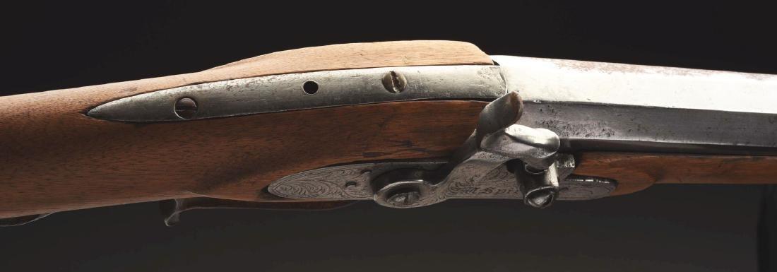 Documented Clark Gable's Half Stock Percussion Rifle - 3