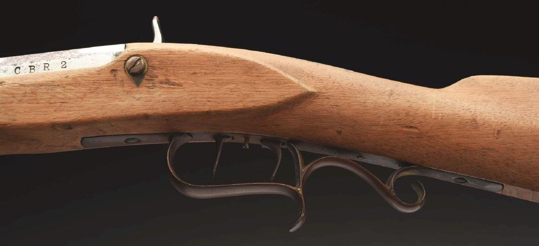Documented Clark Gable's Half Stock Percussion Rifle - 6