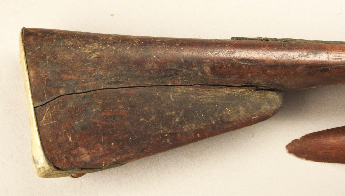 (A) French Flintlock Officer's Fusil. - 3