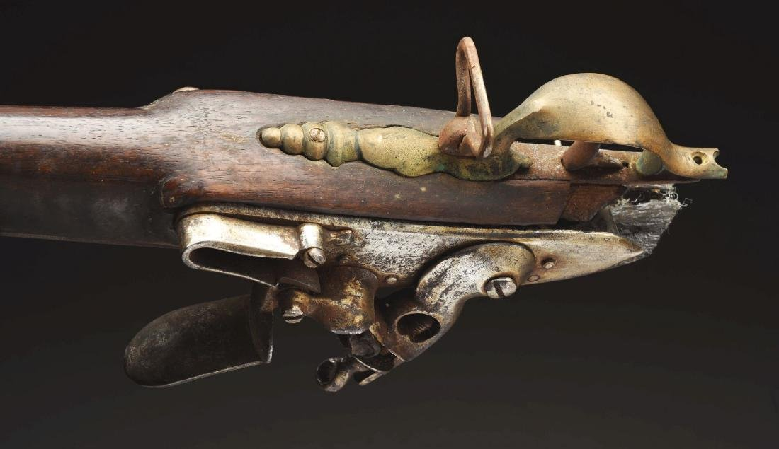 (A) French Flintlock Officer's Fusil. - 6