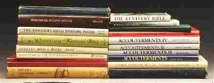 Lot of 21: Books on Kentucky Longrifles.