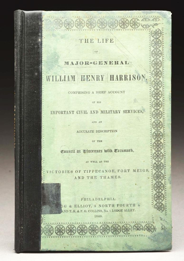 History of Willaim Henry Harrison's Military & Civil