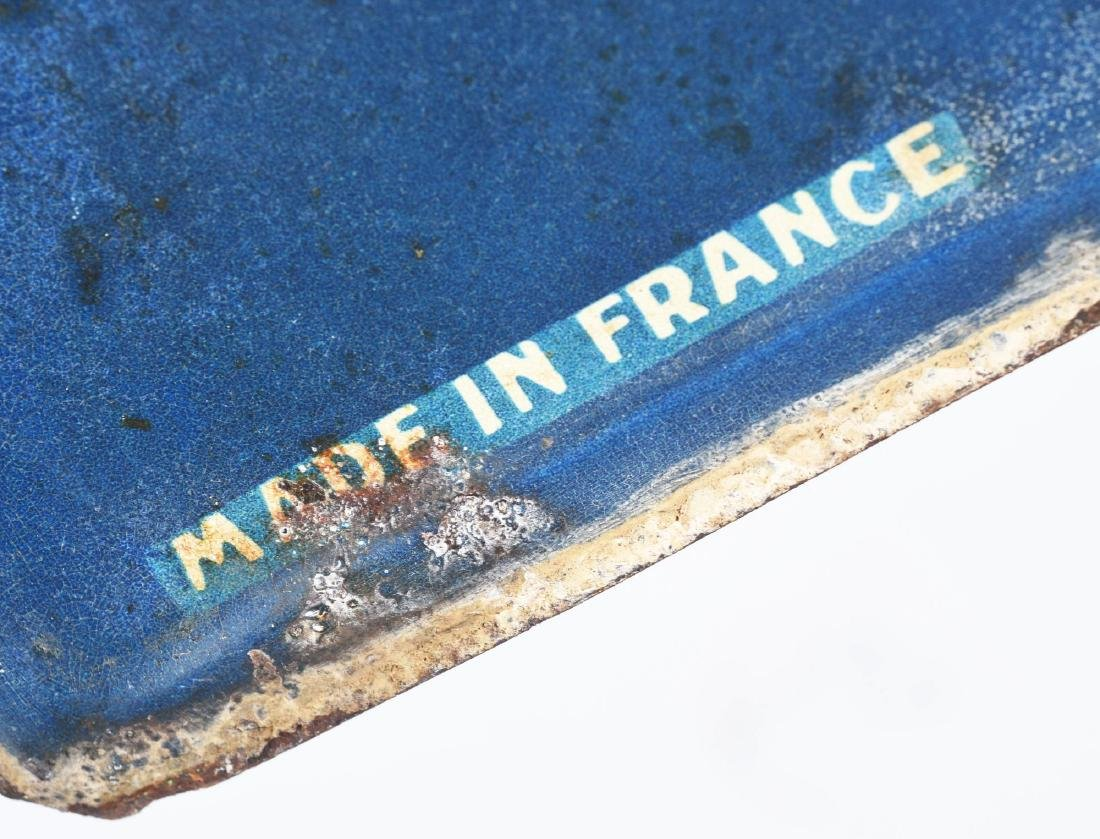 Michelin Tires Embossed Tin Sign with Bibendum & Tire - 3