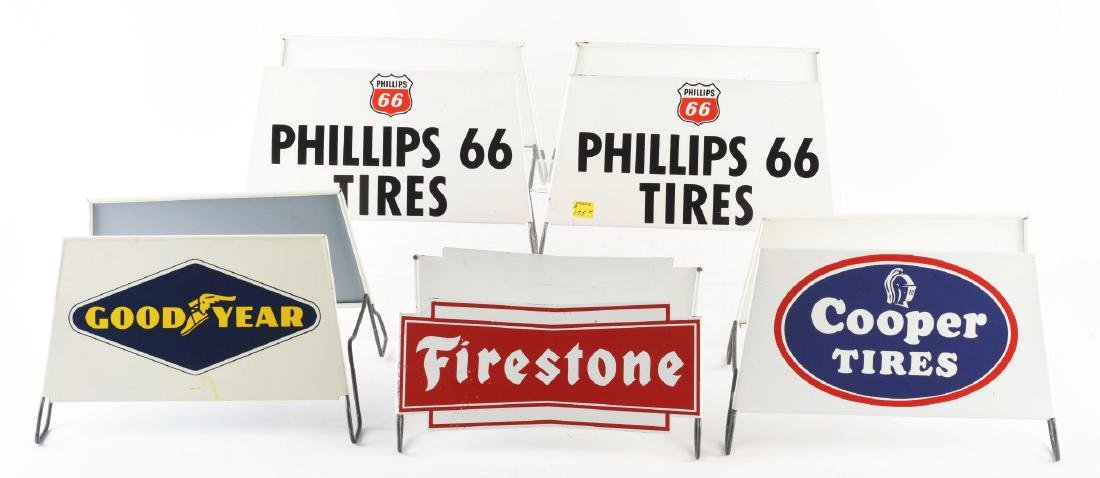 Lot of 5: Tire Stand Store Displays.