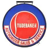 Studebaker Authorized Sales  Service Porcelain Sign