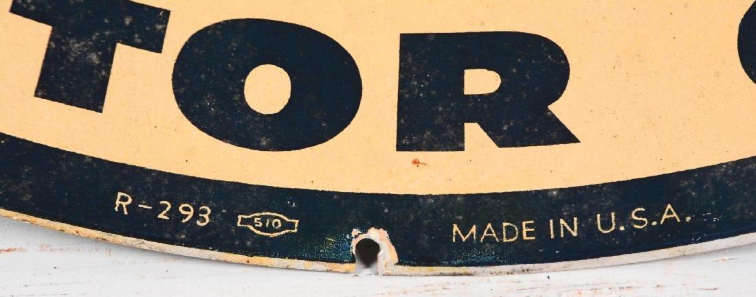RPM Motor Oil Tin Sign. - 2