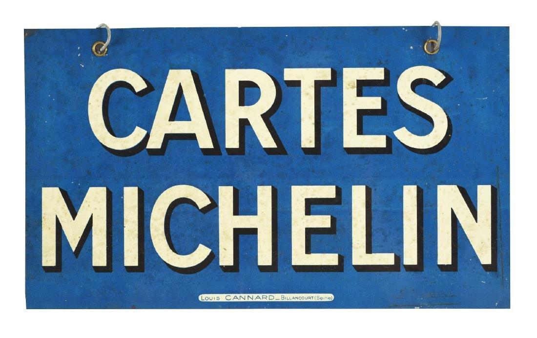 Michelin Tires Tin Sign.