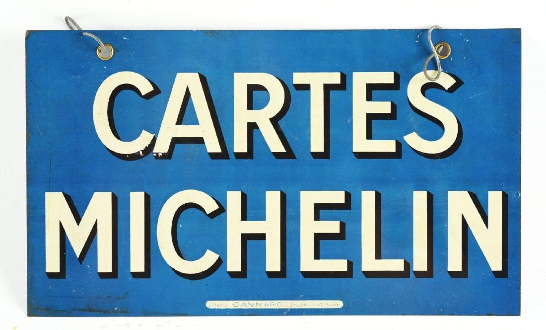 Michelin Tires Tin Sign. - 3