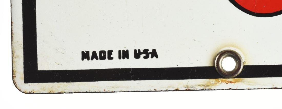 Texaco Fire Chief Gasoline Porcelain Pump Sign. - 2