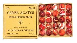No 0 Cerise Agate Box