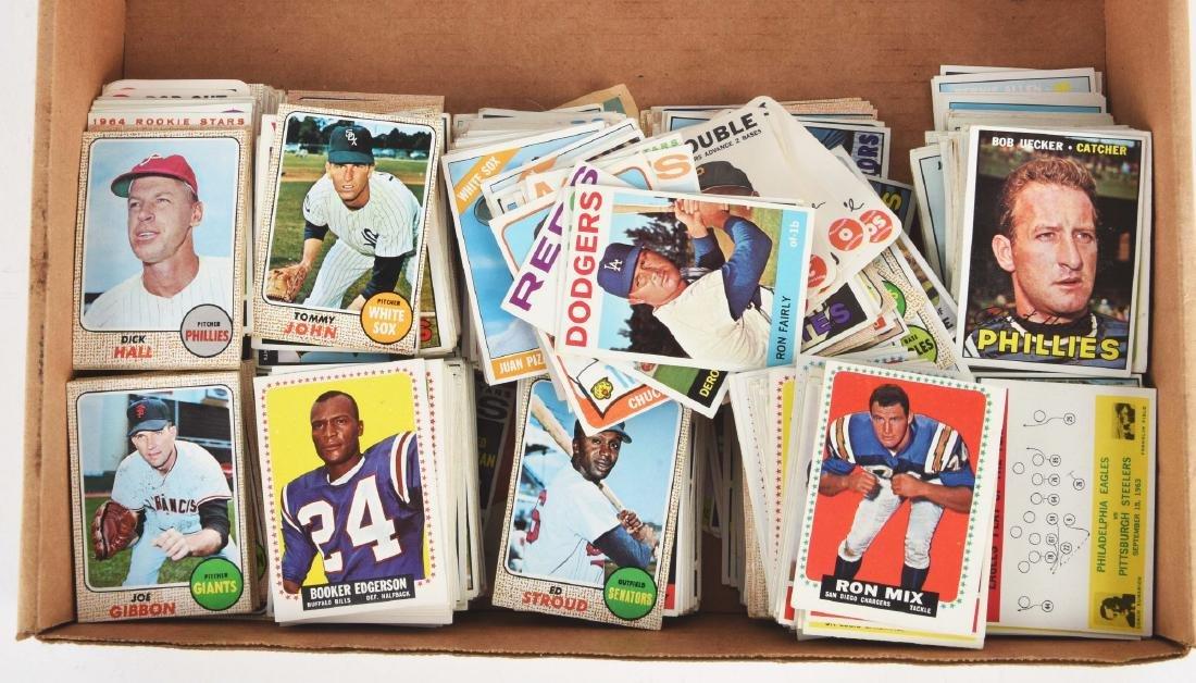 1968 Topps Empty Wax Box & Group of 1960's Baseball & - 2