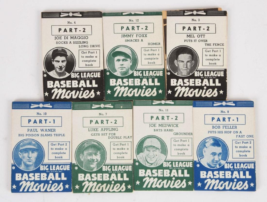Lot of 26: 1937-1938 Goudey Thumb Movie Complete Set