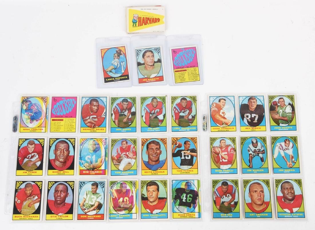 1967 Topps Football Archive Card & Sticker Collection.