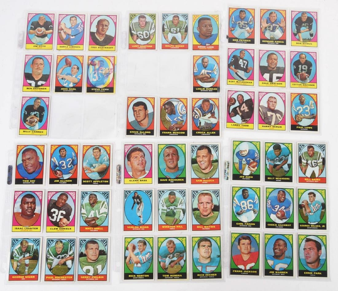 1967 Topps Football Archive Card & Sticker Collection. - 2