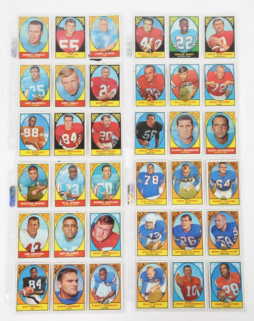 1967 Topps Football Archive Card & Sticker Collection. - 3