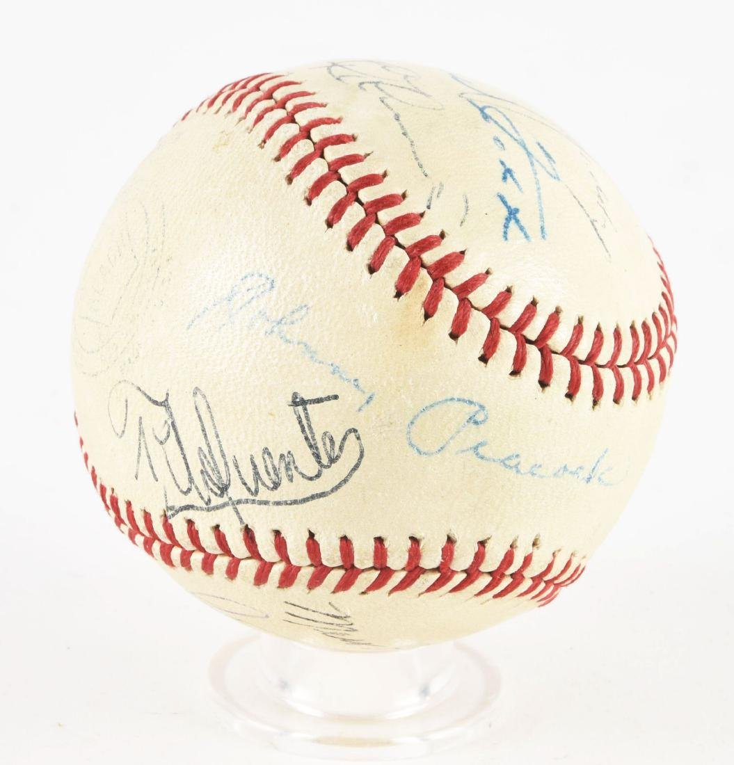 Interesting Jimmie Foxx & Others Signed Baseball In - 3