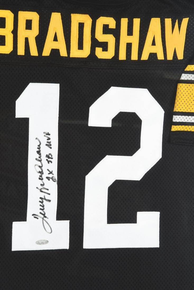 Lot Of 3: Autographed NFL Quarterback Jerseys. - 3