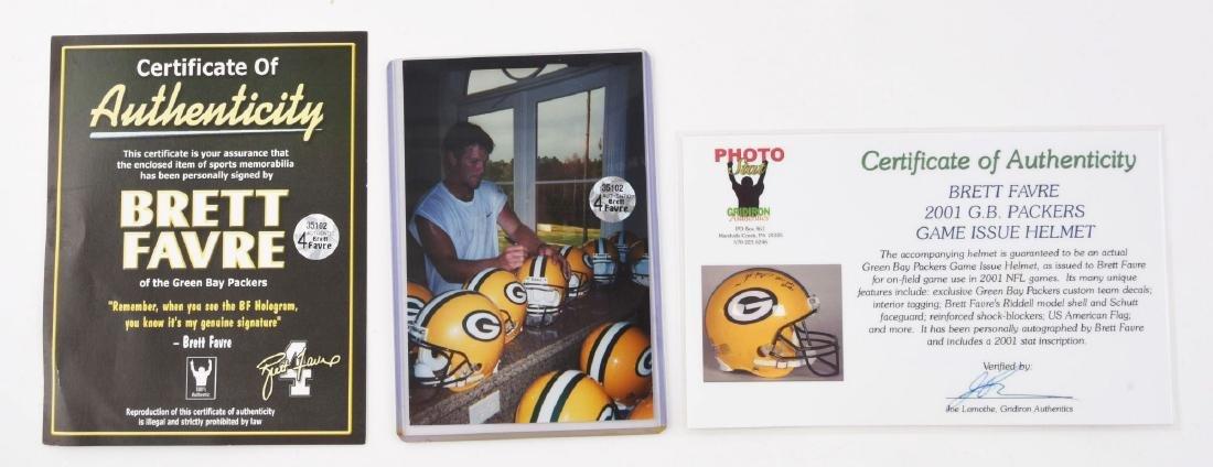 Lot Of 2: NFL Superbowl Quarterback Autographed - 4