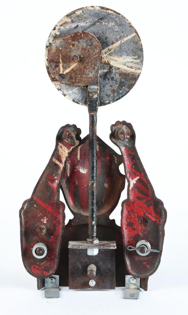 Mangels automaton  Clown Iron Target - 3