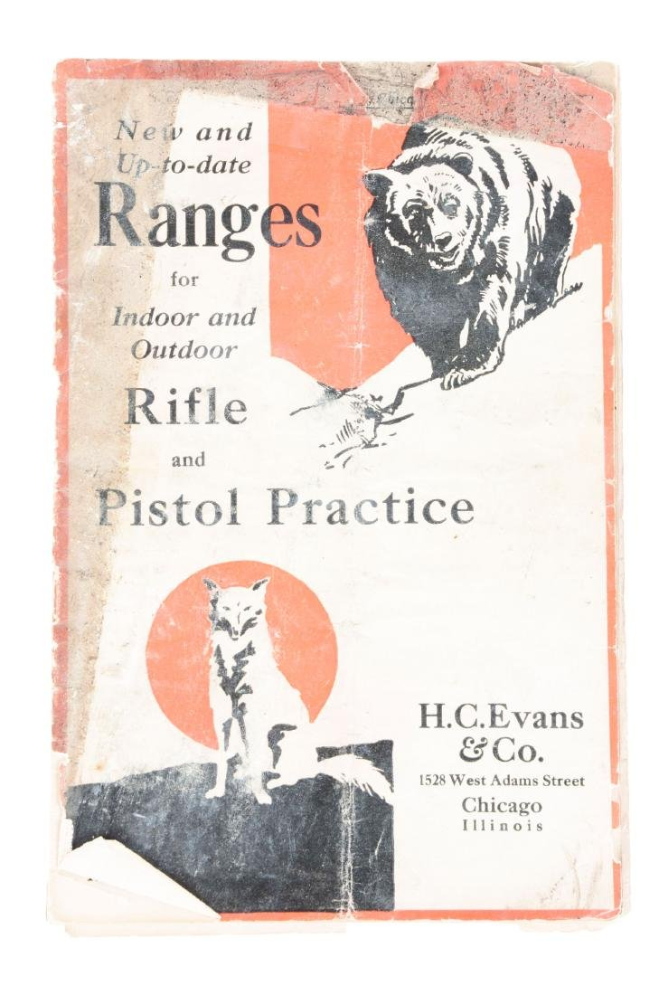 H.C. Evans & Co. Shooting Gallery Catalog.