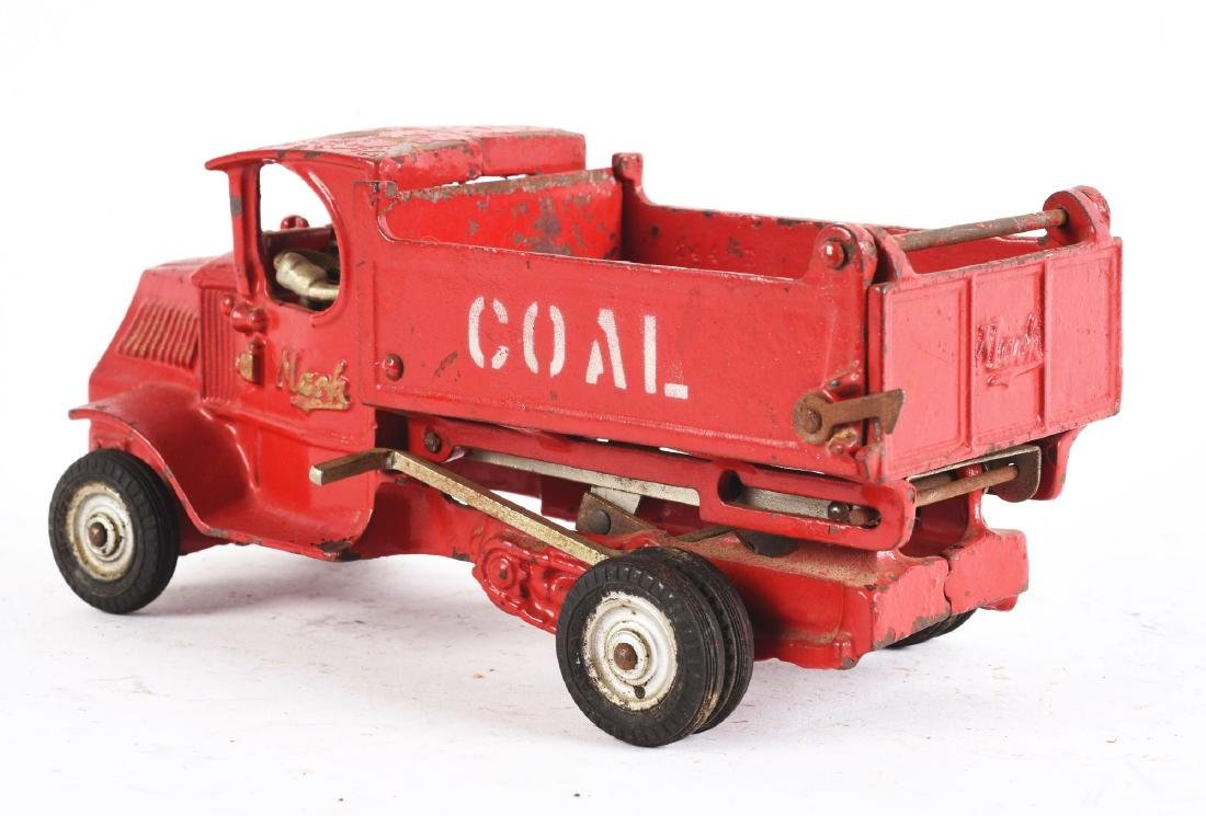 Cast Iron Arcade Mack Coal Truck. - 2