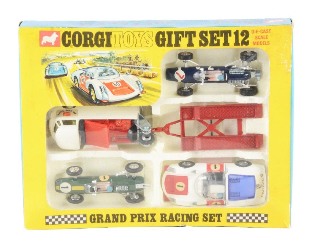 Corgi Toys Gift Set No. 12 Grand Prix Racing Set in