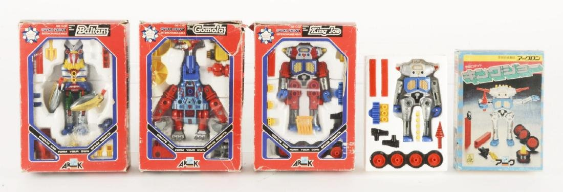 Lot Of 4: Japanese Ark Die-Cast Character Figures in