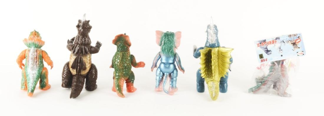 Lot Of 6: Japanese Vinyl Monster Characters. - 2