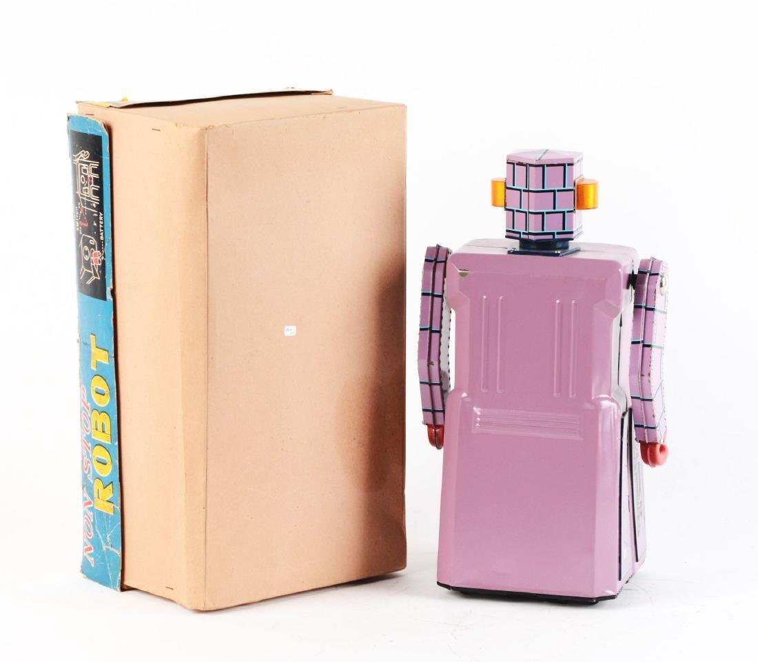 Japanese Tin Litho Gang of 5 Non Stop Robot. - 2