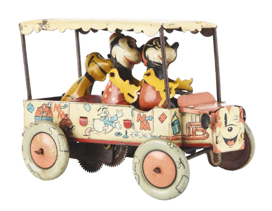 Rare English Disney Mickey Mouse Krazy Kar.