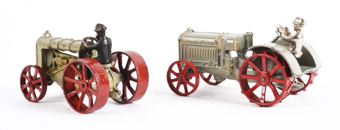 Lot Of 2: Cast Iron America Made Toy Tractors. - 2