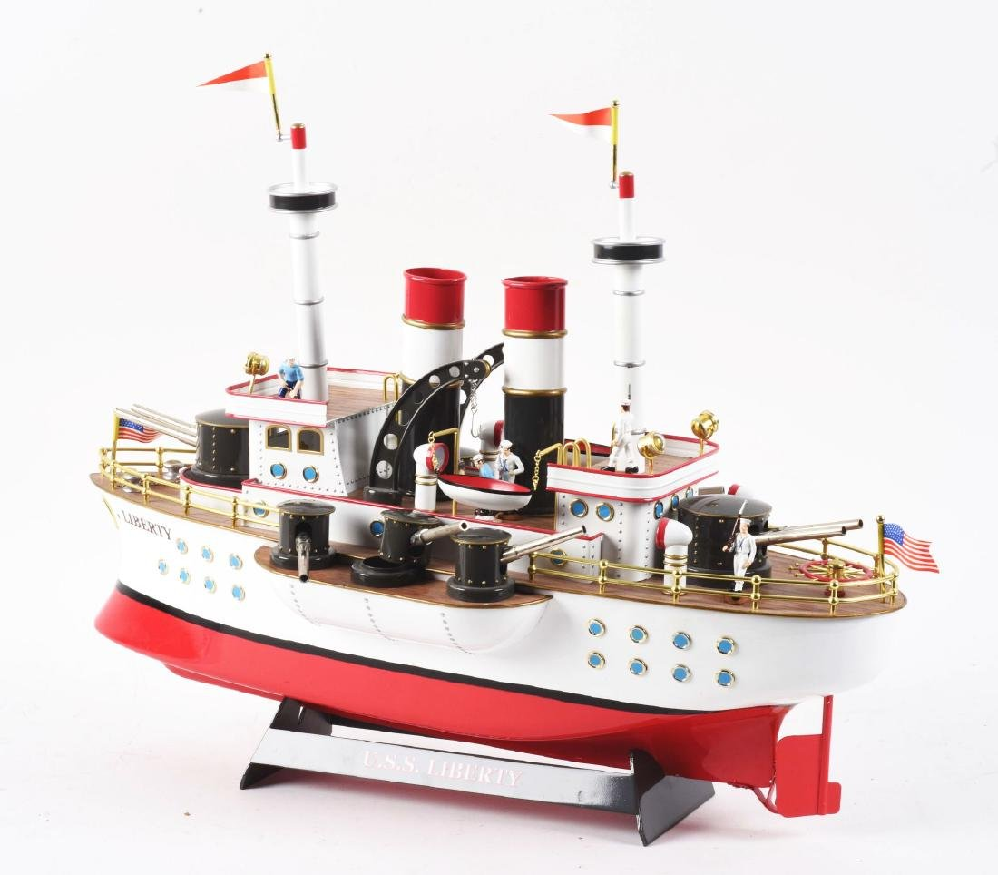 Contemporary Clockwork Liberty Battleship. - 3