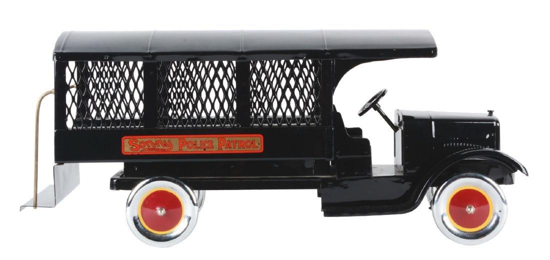 Pressed Steel Sonny Police Patrol Truck.