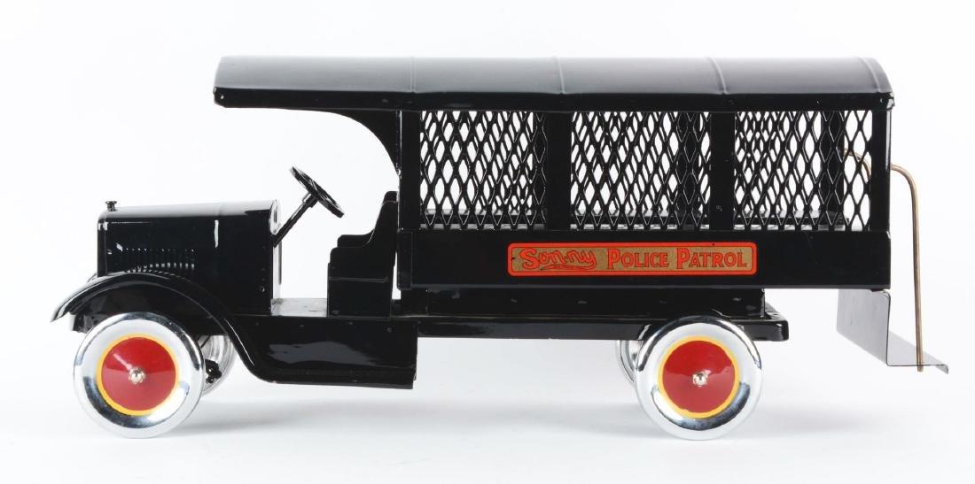 Pressed Steel Sonny Police Patrol Truck. - 2