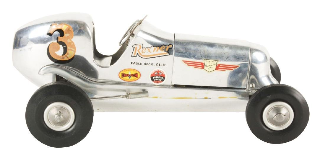 1939 Rezner Deluxe Gas Powered Race Car with Reference