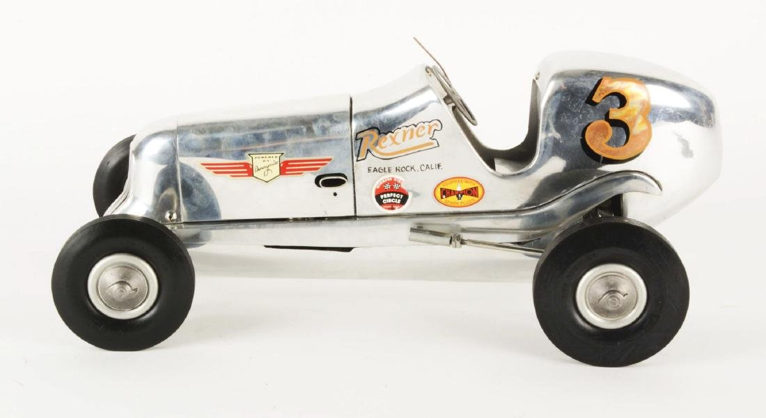 1939 Rezner Deluxe Gas Powered Race Car with Reference - 2
